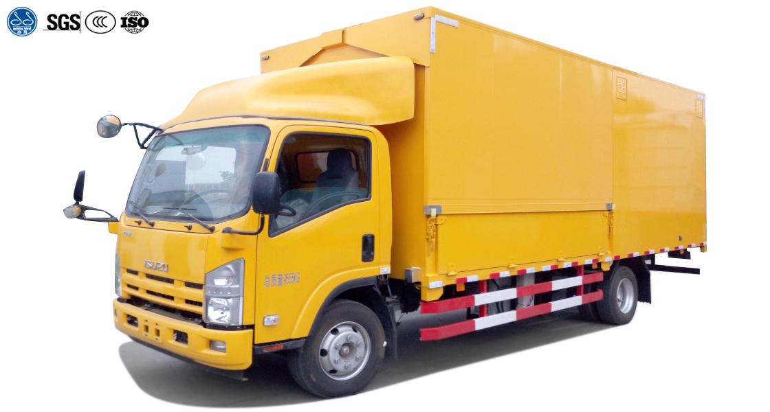 Special Purpose Wing Van Truck