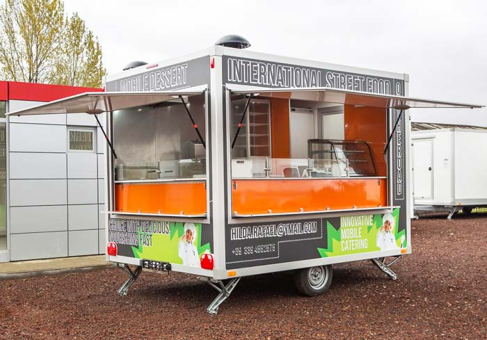 New Multi-functional Mobile Shop Truck Has Been Launched Into Market
