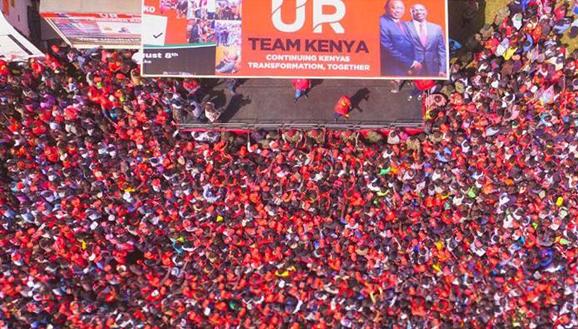 Presidential election was held in Kenya on 8 August