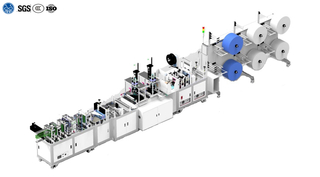 1+2 Fully Automatic Mask Making Machine