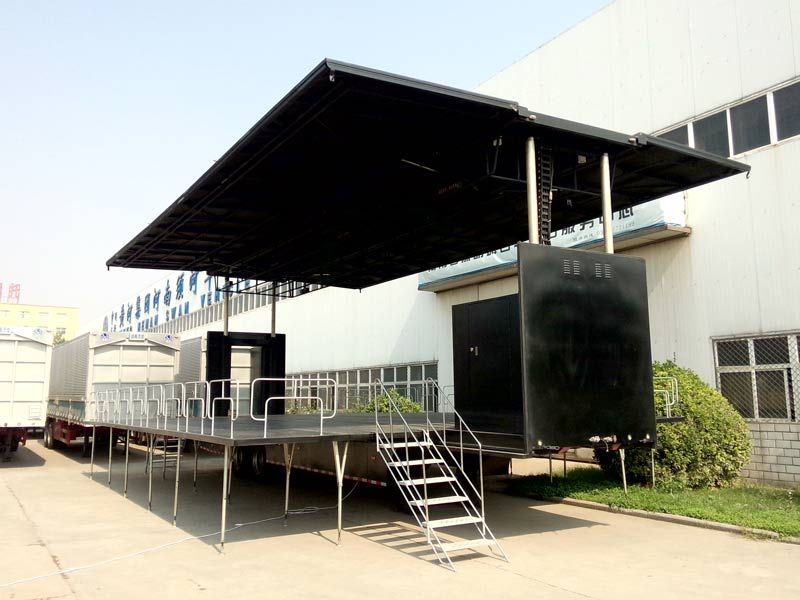 Welcome to Check Our Mobile Stage Truck and Get Free Quotation
