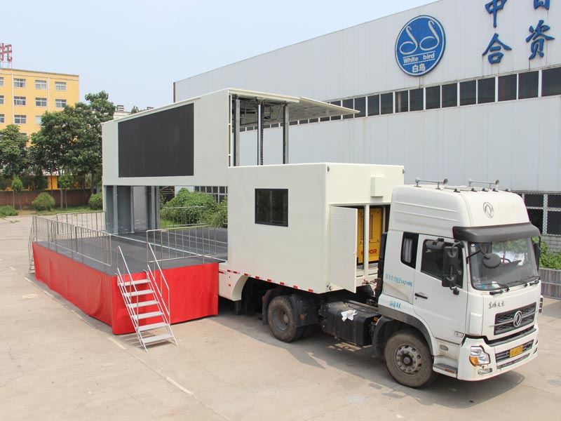 13m led advertising truck price