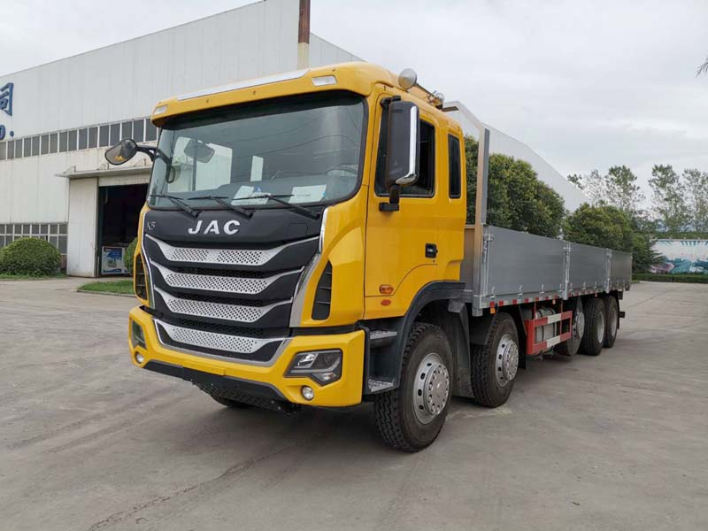 Aluminum Dropside Cargo Truck Produced By Swan Vehicle Has Been Put Into Practice