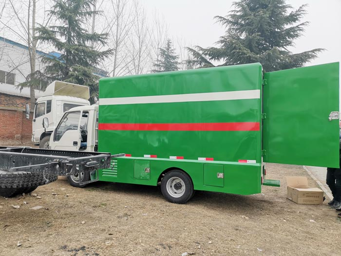 LED Advertising Truck Will Be Exported to Philippine